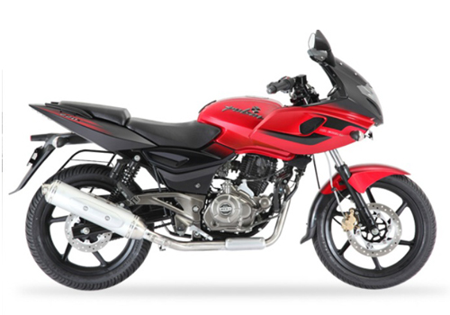 pulsar 200 red bikes