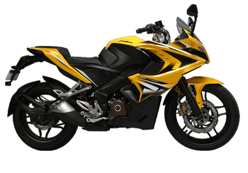 pulsar 200ns yellow bikes