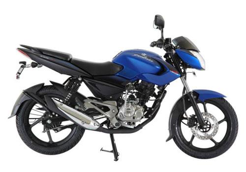 pulsar 135 blue bikes
