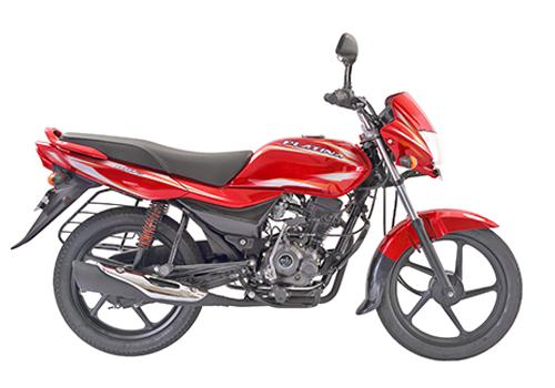 platina 100 ES red bikes